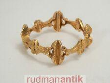 LAPPONIA FINNLAND ARMBAND massiv GOLD 585 - 18 x 2,3 cm - 47,1 g - signiert