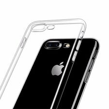 Estuche Caja Funda Trasparente de Goma Accesorios Case Cover Para iPhone 8 Plus