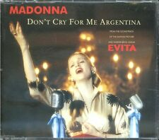 Maxi CD Madonna - Don't Cry for me Argentina - siehe Liste