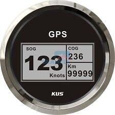 KUS Boat GPS Digital Speedometer Electric Speed Gauge Car Truck Marine 85mm