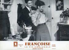 MARIE -JOSE NAT JACQUES CHARRIER LA VIE CONJUGALE 1964 LOBBY CARD ORIGINAL #12