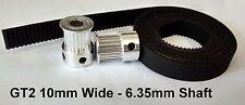 3D Impresora GT2 10mm Ancho Timing Correa Y Poleas - 20 Dientes 6.35mm Eje