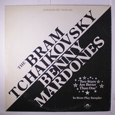 BRAM TCHAIKOVSKY & BENNY MARDONES: Bram Tchaikovsky & Benny Mardones LP (promo