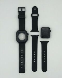 Apple Watch Series 1 ** 42mm Aluminum ** With Catalyst Waterproof Case