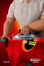 Incredibles 2 - original DS movie poster - 27x40 D/S 2018 Advance B - PIXAR