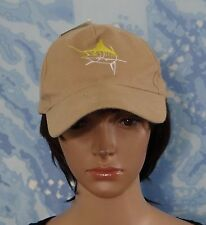 dc24f931ab3 Guy Harvey Embossed Baseball Cap Cotton Tan One Size Fits Most