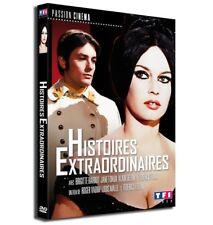 "DVD ""HISTOIRES EXTRAORDINAIRES"" Brigitte BARDOT, Alain DELON neuf sous blister"