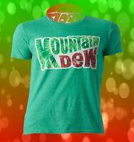New Mountain Dew Tie Dye Mens Classic Retro T-Shirt