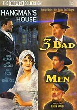 Hangman's House / 3 Bad Men (Double Feature) New DVD