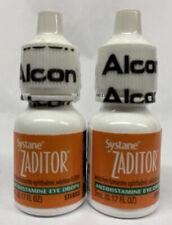 2 Zaditor Eye Itch Relief Drops 0.17oz EXP 2022