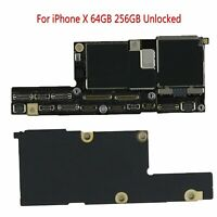 Repair For iPhone X 64GB 256GB Unlock Main Logic Board Motherboard No Face ID