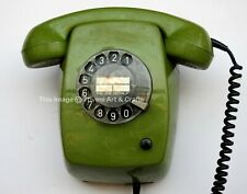 Vintage Maritime Wall Mount Rotary Telephone Salvaged ship's Navigation Marine