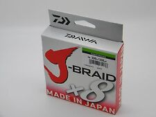 Daiwa J-BRAID Braided 15-300CH Line 15lb 330yd 300M HI-VIS CHARTREUSE New