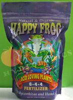 FoxFarm Happy Frog ACID LOVING PLANTS 4 lbs Natural Organic Fertilizer Fox Farm