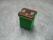 40A Green LOW PROFILE 40amp LJCAS Fuse Link - Ships Fast!