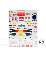 1/12 DECAL for DRIVER & HELMET SCHUMI SCHUMACHER FERRARI 96-06 for REVELL TAMIYA