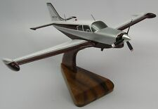 PA-24-250 Comanche Piper PA24 Airplane Mahogany Kiln Dry Wood Model Small New