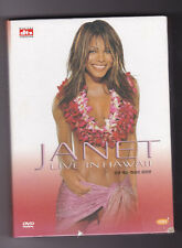 Janet Jackson Janet Jackson - Live in Hawaii SPECIAL EDITION DVD ONLY NTC CODE