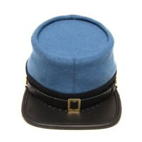 US Civil War Confederate Infantry officers kepi with black band