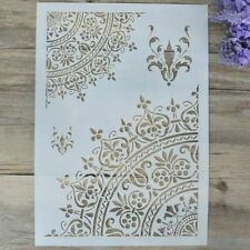 1*DIY Craft Mandala Stencils Template For Walls Painting Scrapbooking Stamping