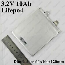 11 Ah 3.2 V LiFePO4 prismatic cell battery pouch