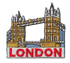 Ecusson patche London Londres patch brodé thermocollant applique souvenir