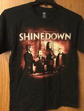 "Shinedown - ""Amaryllis"" - U.S.  2012 Black Tour Shirt.  M."