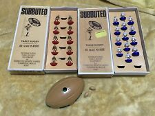 Subbuteo Rugby Figures, Spares Repairs. Boxes Superb -see pictures