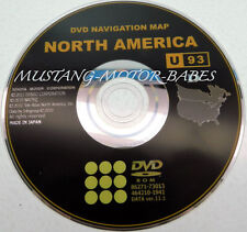2011 2012 Toyota Avalon Sienna Highlander Navigation DVD Map 11.1 Update