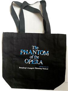 PHANTOM OF THE OPERA Longest Running Broadway Musical Tote Bag Free Shipping