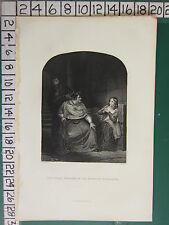 c1830 PRINT ~ JOAN OF ARC EXAMINED BY THE BISHOP OF WINCHESTER