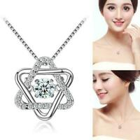 Women Heart Charm Alloy Pendant Hollow Choker Necklace HOT Jewelry Gold//Sil A8X3