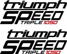 Triumph Speed Triple 1050 2 Aufkleber Triumph Triple 1050 Farben
