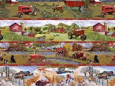 Farmall IH Tractor Stripe Four Seasons