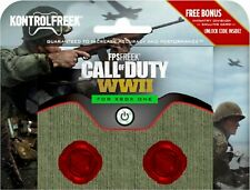 NEW KontrolFreek - FPS Freek Call of Duty: WWII Thumbsticks for Xbox One - Red
