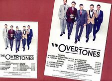 Set THE OVERTONES Theatre Flyer Tour Handbills