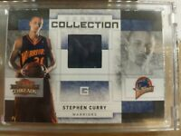 🔥#6/250 Stephen Curry Panini Threads Prime Rookie Collection MINT RC RARE🔥