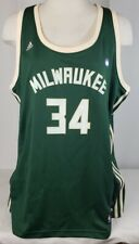 Brand New Adidas NBA Milwaukee Bucks Antetokoumpo #34 Women's Jersey- XXL