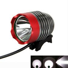T6 LED Red+ Black USB Head Front Bicycle Bike Headlamp Flashlight Lamp 1000Lm