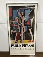 "Vtg PABLO PICASSO ""The Three Dancers"" Poster MOMA Museum of Modern Art NY 1980"