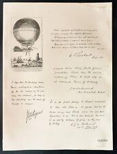 1926 - Lithographie Maréchal Sir Hugh Trenchard, John Salmond, Higgins, Salmond