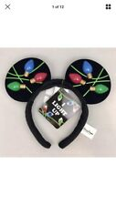 Disney Parks ~ Light Up Christmas Holiday ~ Mickey Mouse Headband Ears ~ NMWT ~