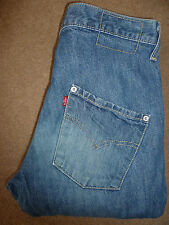 Levis tipo 3 Twisted Engineered Jeans Blu Medio W28 L34 secondo livello 320 #