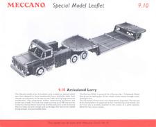 MECCANO modello piano 10.30/9.10 Autoarticolato