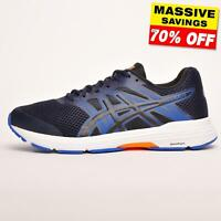 Asics Gel Exalt 5 Mens Premium Running Shoes Fitness Gym Trainers Navy