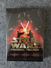 STAR WARS PREQUEL TRILOGY DVD 2008 6-DISC SET CHECKPOINT RED BOX SET LAST ONENEW