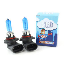 Cadillac SRX 55w ICE Blue Xenon HID High Main Beam Headlight Bulbs Pair