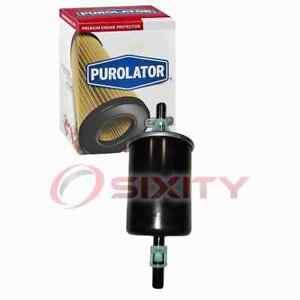 Purolator Fuel Filter for 2004-2005 Chevrolet Colorado Gas Pump Line Air jq