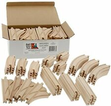 Thomas Wooden Train Track 52 Piece Pack Wood Brio Chuggington Straight Curved
