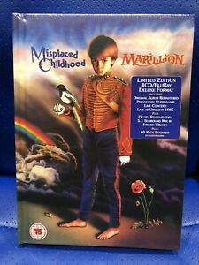 NEW LIMITED EDITION MARILLION MISPLACED CHILDHOOD 4CD BLU-RAY DELUXE BOX SET